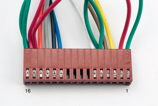 Astonishing Assembly Of The Female Connector Block Wiring Digital Resources Antuskbiperorg