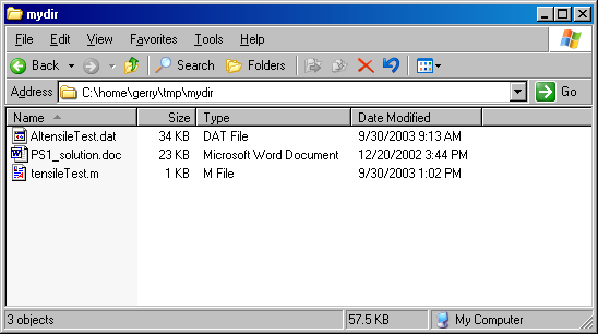 A Problem With Windows File Extensions