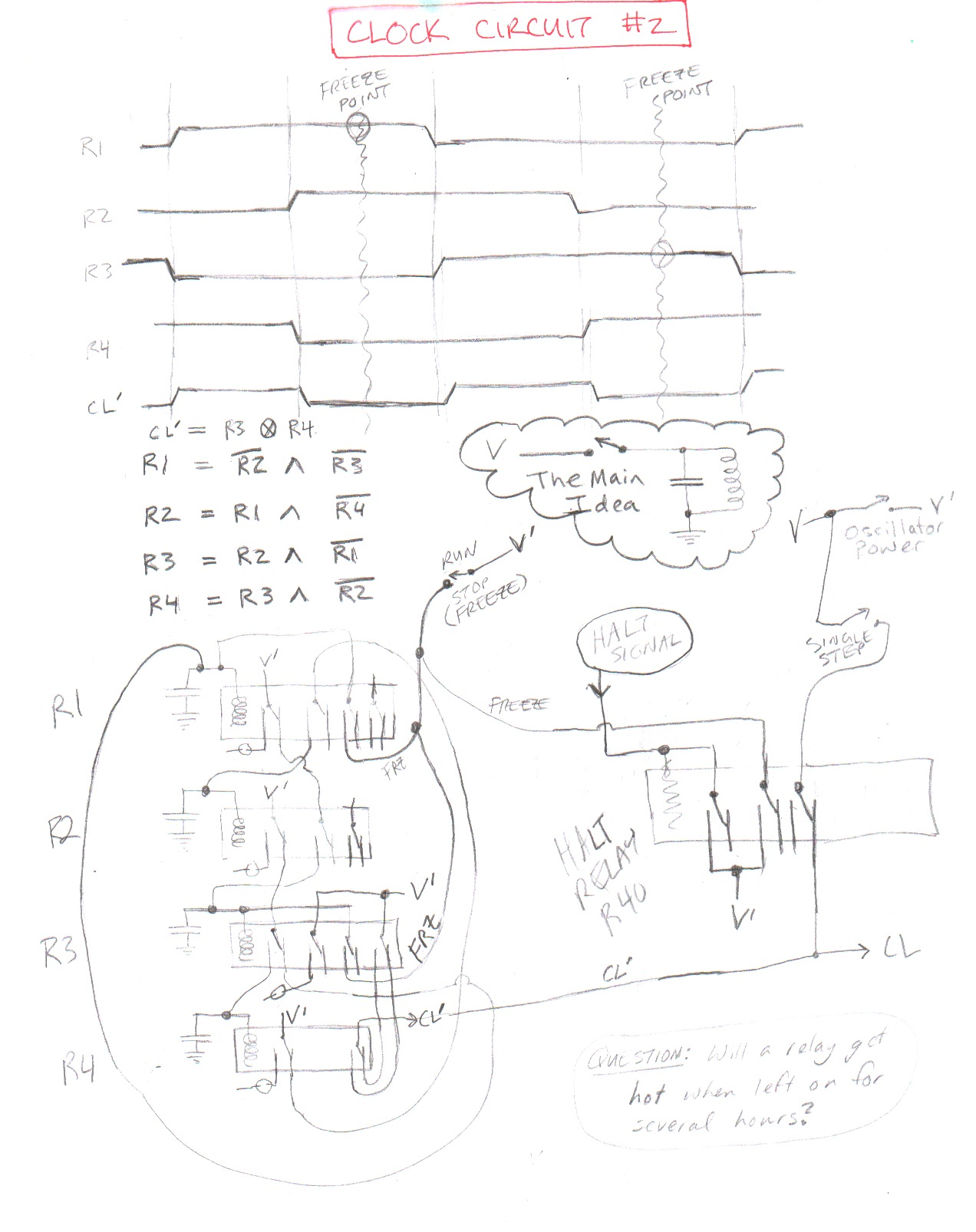 Circuit Diagrams Clock Circuits Images Clockcircuit 1