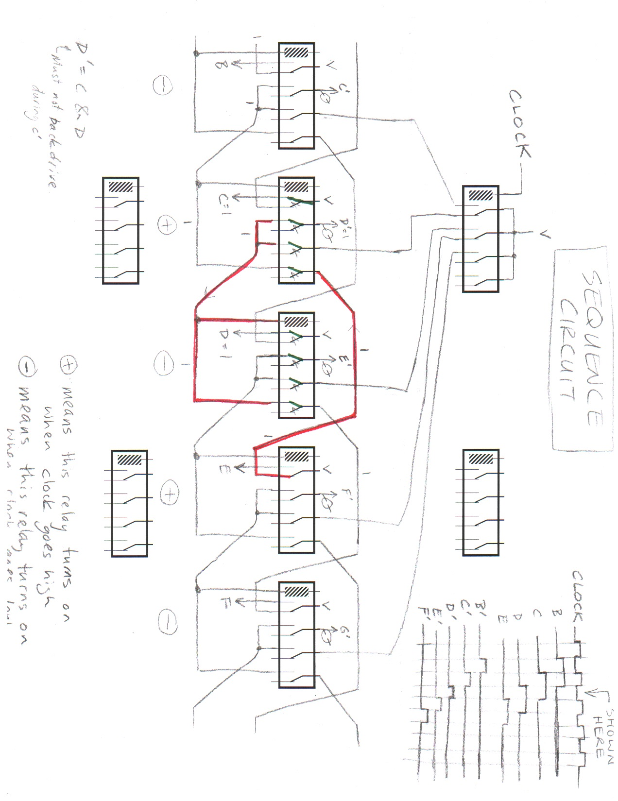 Circuit Diagrams Drawing Schematic Sequencecircuit 1